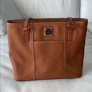 Dooney & Bourke brown shoulder purse
